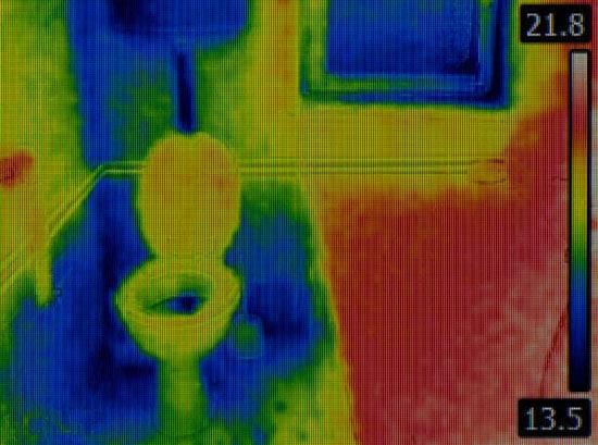 Snimanje cevi termalnom kamerom